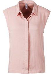 Блузка без рукавов (черный) Bonprix