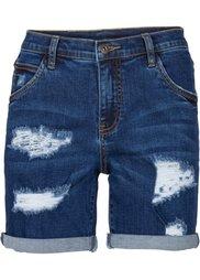 Джинсовые шорты (голубой) Bonprix