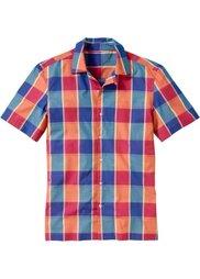 Рубашка (желтый/зеленый в клетку) Bonprix