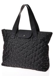 Стеганая сумка (темно-лиловый) Bonprix