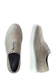 Кожаные туфли (серый) Bonprix