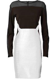 Платье (черный/черный) Bonprix
