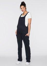 Мода для беременных: комбинезон (темный деним) Bonprix
