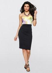 Платье (черный/маджента) Bonprix