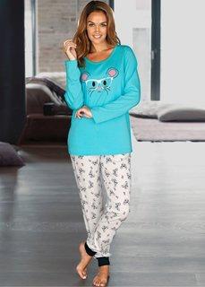 Пижама (с рисунком) Bonprix