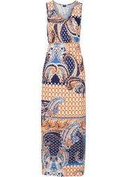 Макси-платье (дымчато-розовый/коричневый с у) Bonprix