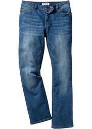 Джинсы-стретч Slim Fit Bootcut, cредний рост (N) (голубой «потертый») Bonprix