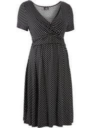 Мода для беременных: трикотажное платье-стретч (сине-зеленый/пастельная аква в) Bonprix