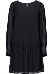 Платье (коричневый/оранжевый с узором) Bonprix