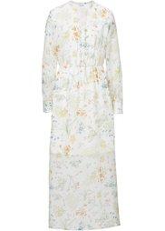 Обязательный элемент гардероба: длинное шифоновое платье (с принтом в стиле пэчворк) Bonprix