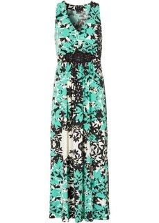 Макси-платье (цвет белой шерсти/горячий ярко) Bonprix