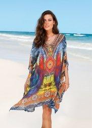 Пляжная туника (различные расцветки) Bonprix