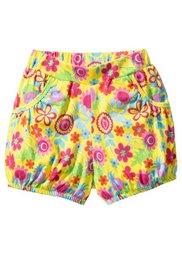 Мода для малышей: шорты из биохлопка (2 шт.), Размеры  56/62-104/110 (желтый тюльпан + аква) Bonprix