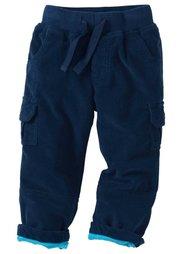 Вельветовые брюки (антрацитовый) Bonprix