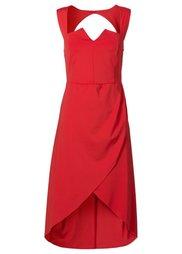 Платье-бюстье (кленово-красный) Bonprix