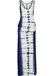 Платье (кремовый/ярко-розовый) Bonprix