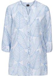 Легкая блузка (нежно-розовый/светло-серый с у) Bonprix