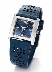 Часы с перфорированным ремешком (черный) Bonprix