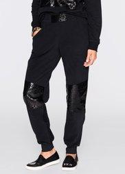 Трикотажные брюки от Marcell von Berlin for bonprix (черный)