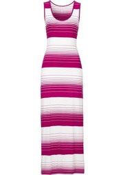 Платье (черный/белый в полоску) Bonprix