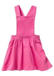 Платье-комбинезон, Размеры  80/86-128/134 (цвет белой шерсти/лиловый с ри) Bonprix