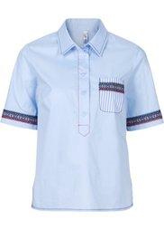 Рубашка с вышивками (белый с вышивкой) Bonprix