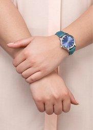 Часы в стиле деним (синий деним) Bonprix