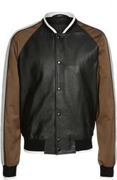 Куртка-бомбер кожаная Lanvin