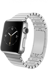 Apple Watch 38mm Silver Stainless Steel Case with Link Bracelet Apple