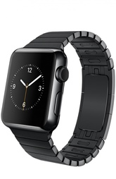 Apple Watch 38mm Space Black Stainless Steel Case with Link Bracelet Apple