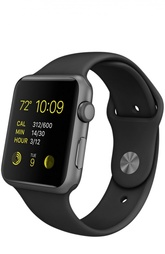 Apple Watch Sport 42mm Space Gray Aluminum Case Apple