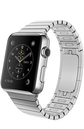Apple Watch 42mm Silver Stainless Steel Case with Link Bracelet Apple