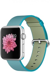 Apple Watch Sport 42mm Silver Aluminum Case with Woven Nylon Apple