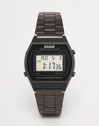Черные электронные часы из нержавеющей стали B640WB-1AEF Casio