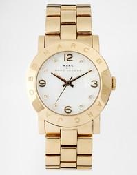Золотистые наручные часы Marc Jacobs Amy MBM3056 - Золотой