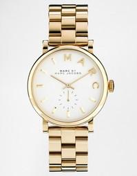 Золотистые часы Marc Jacobs Baker MBM3243 - Золотой