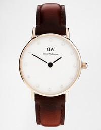Классические коричневые часы Daniel Wellington St Andrews - Коричневый