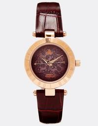 Часы с эффектом крокодиловой кожи на ремешке Vivienne Westwood Time Ma