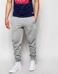Спортивные штаны с логотипом Jack & Jones - Светло-серый меланж