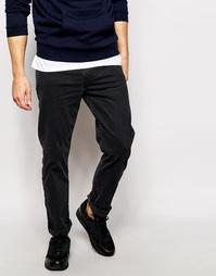 Черные джинсы слим Levi's Line 8 522 - Black mid