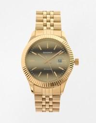 Наручные часы с золотым браслетом Sekonda - Золотой