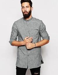 Рубашка с длинными рукавами ASOS - Серый
