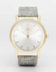 Часы с фетровым ремешком ASOS - Серый
