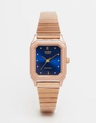 Часы в винтажном стиле Casio LQ 400R 2AEF - Розовое золото
