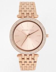 Часы с покрытием из розового золота Michael Kors Darci MK3192