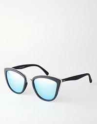 Зеркальные солнцезащитные очки кошачий глаз Quay Australia My Girl