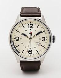Часы с кожаным ремешком Tommy Hilfiger Peter 1791102 - Коричневый