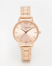 Часы-браслет с циферблатом среднего размера Olivia Burton