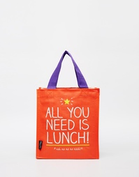 Сумка для ланча с принтом All You Need Is Lunch Happy Jackson