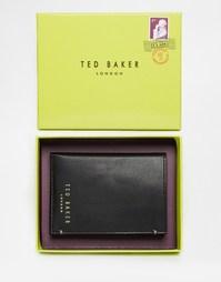 Кожаный бумажник Ted Baker Zacks - Черный